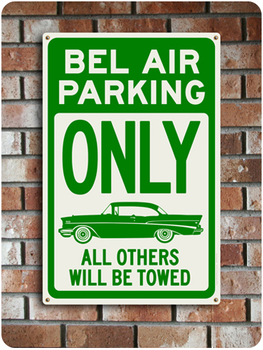 Bel Air Parking Only