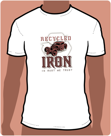 Recycled Iron